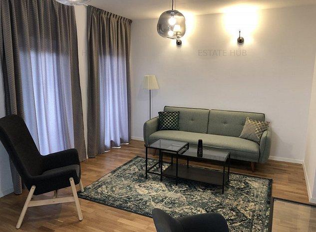 Inchiriere apartament 2 camere cu gradina, cartier Borhanci! - imaginea 1