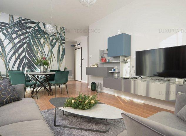 LUXURIA Domenii Residence, apartament 2 camere decomandat - imaginea 1
