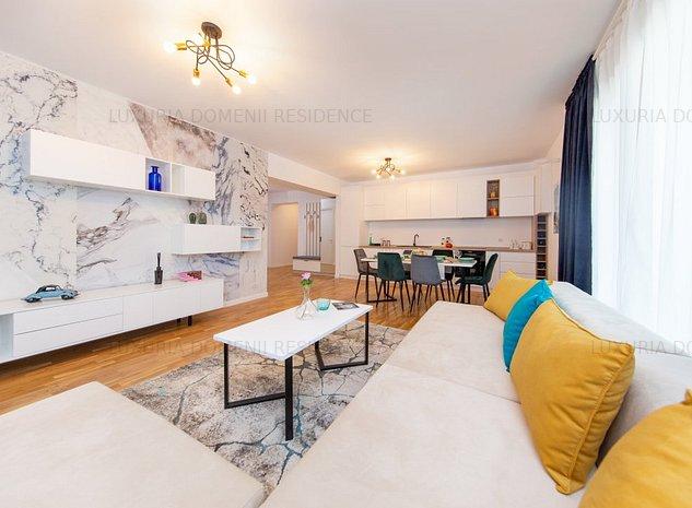 Apartament 4 camere, ELEGANT, vedere deosebita, Luxuria Residence, Piata Presei - imaginea 1