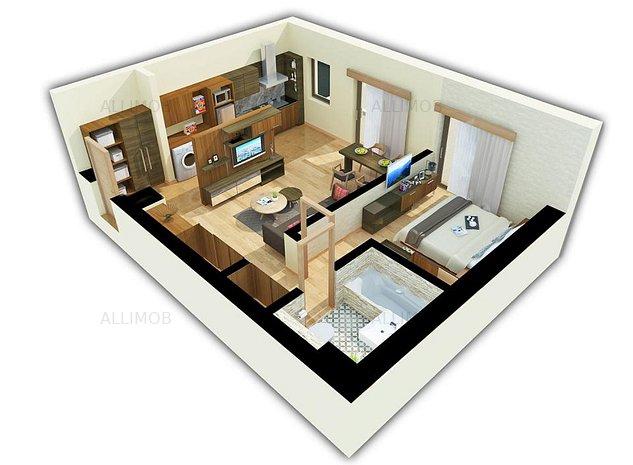 Apartament 2 camere, comision zero, cartier rezidential, Ploiesti - imaginea 1