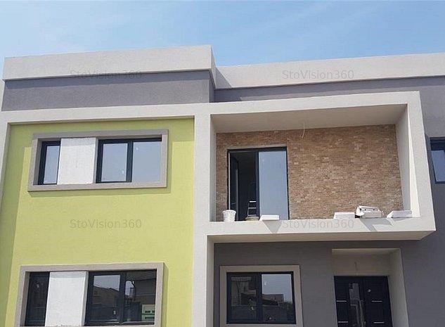 Duplex la cheie, cu 5 camere, strada asfaltata, Dumbravita - imaginea 1