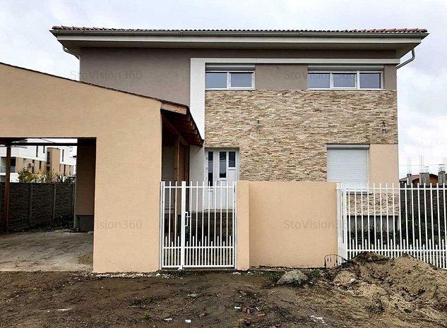 Casa individuala cu garaj si teren 780mp, Dumbravita - imaginea 1