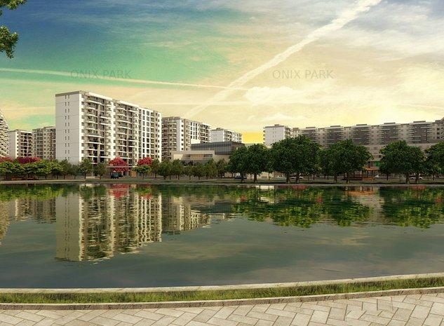 Penthouse 2 camere cu vedere spre lac, Onix Park - imaginea 1