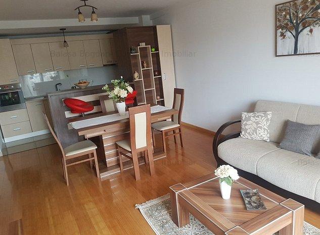 Apartament mobilat bloc nou central Brasov - imaginea 1