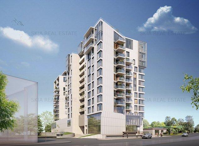 ONE HERASTRAU TOWERS | 2 BEDROOM | FOR SALE | GREEN BUILDING - imaginea 1