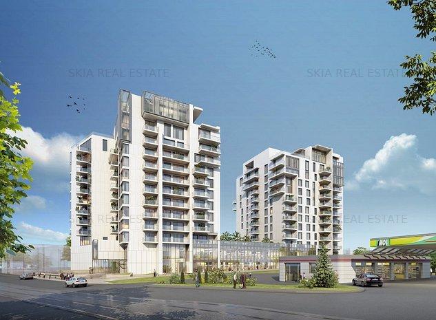 ONE HERASTRAU TOWERS | 1 BEDROOM | FOR SALE | GREEN BUILDING - imaginea 1