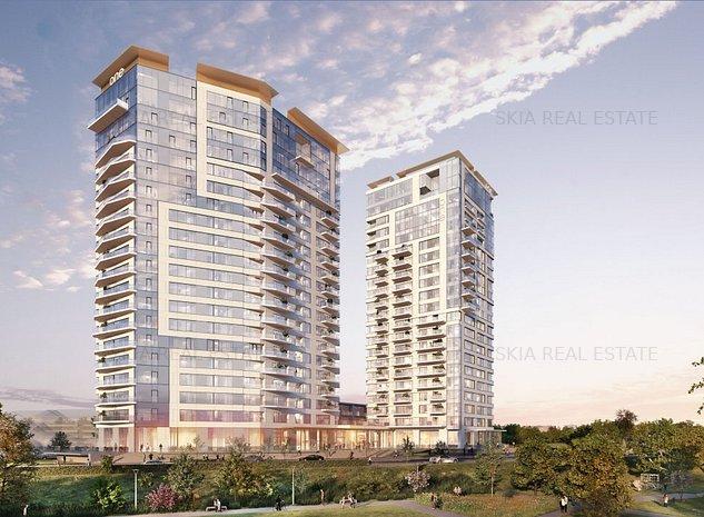 ONE Verdi Park - 2 Bedroom apartment for sale - Park view - imaginea 1