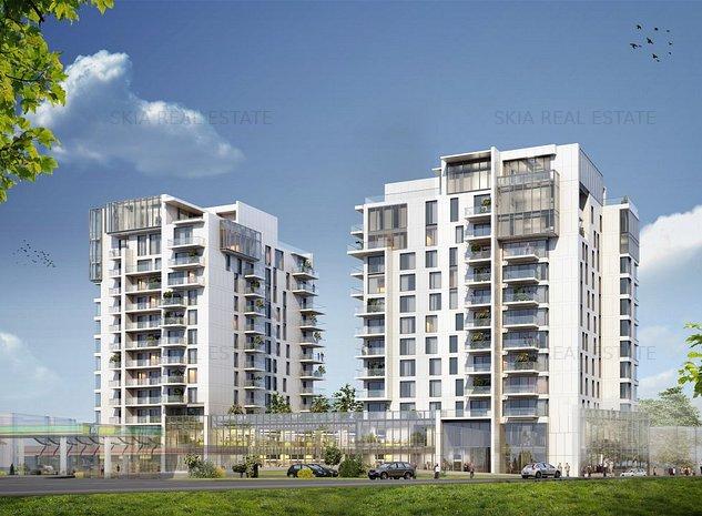 3 bedroom | ONE Herastrau Towers | Premium location | Green building - imaginea 1