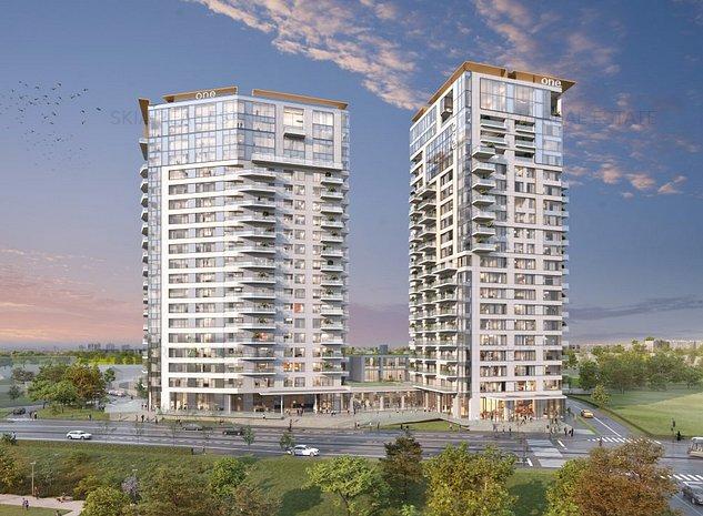 2 Rooms with 6 sqm terrace | ONE Verdi Park | Green building - imaginea 1