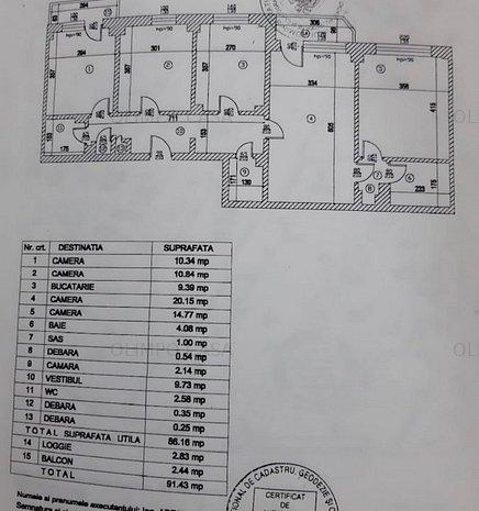 CALEA MOSILOR | 4 camere | Vedere Panoramica B01 - imaginea 1