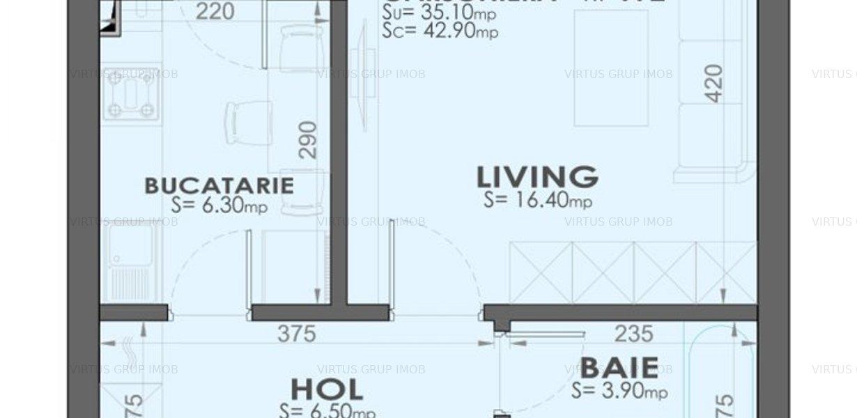 Garsoniera complex Exigent Plaza Residence-IDEAL INVESTITIE - imaginea 1