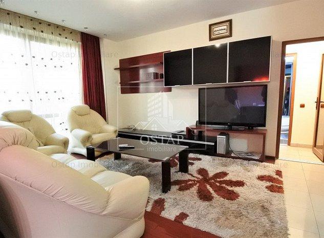 Zona Narcisa-apartament 2 camere decomandate-spaţios-mobilat şi utilat complet - imaginea 1