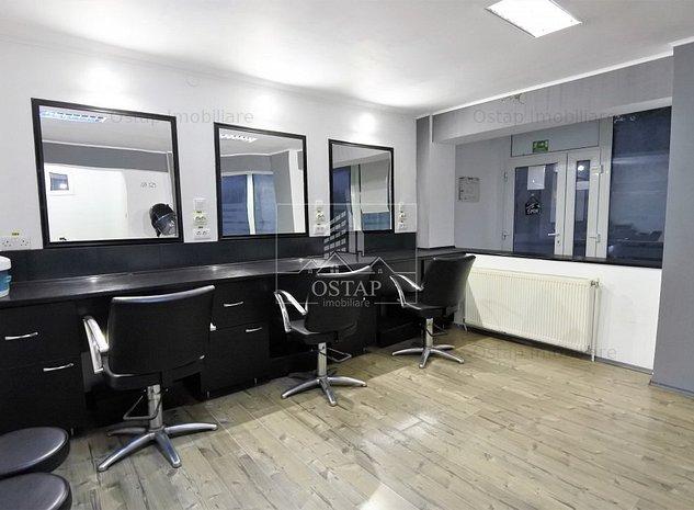 Salon de coafura - frizerie - zona Mioritei - utilat complet - imaginea 1