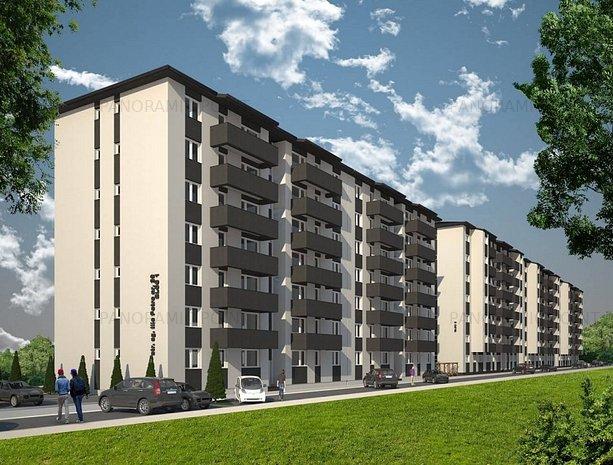2 camere |pret pentru credit 47 000€ | zona Militari | super compartimentare - imaginea 1