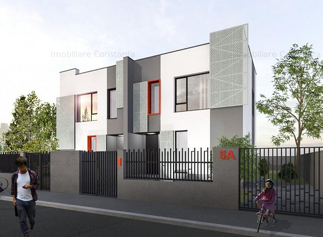 Agigea – Vila noua, arhitectura moderna, pozitie excelenta! - imaginea 1