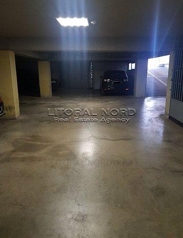 Km 5, parcare subterana in incinta unui bloc, acces cu telecomanda  - imaginea 1