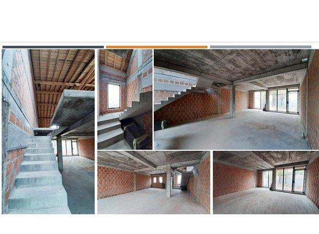 240000€/vila in cvadruplex/150mp-utili+90mp curte la 8min de metrou Ap.Patriei - imaginea 1