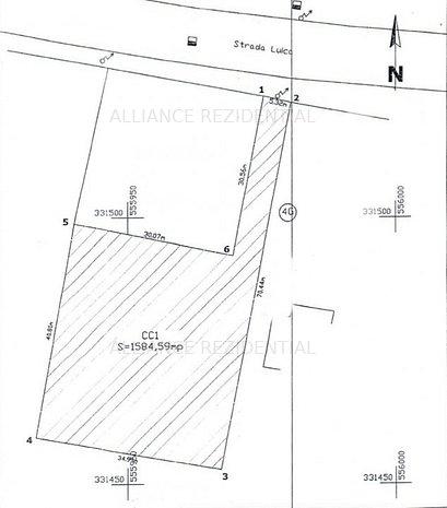 TEREN 1589 MP - Strada LUICA - imaginea 1