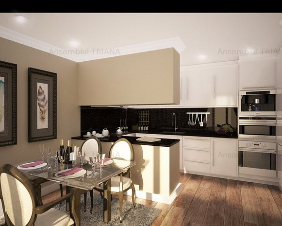 Apartament 3 camere - B 2.4 - imaginea 2