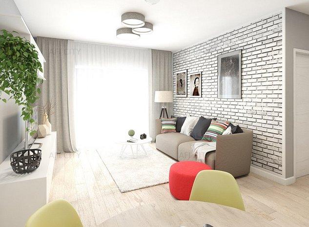 Apartament 2 camere, langa metrou Laminorului - imaginea 1