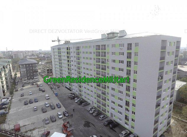 Garsoniera Green Residence Militari Bloc 6 Nou - imaginea 1
