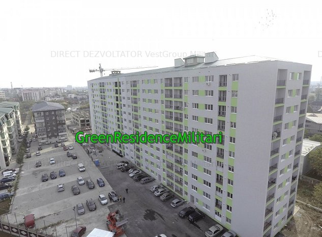 Apartament 2 camere ! La doar 7 min de metrou Pacii Green Residence Militari - imaginea 1