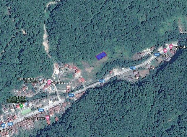 Parcele de teren intravilan in statiunea Moneasa la limita padurii  - imaginea 1