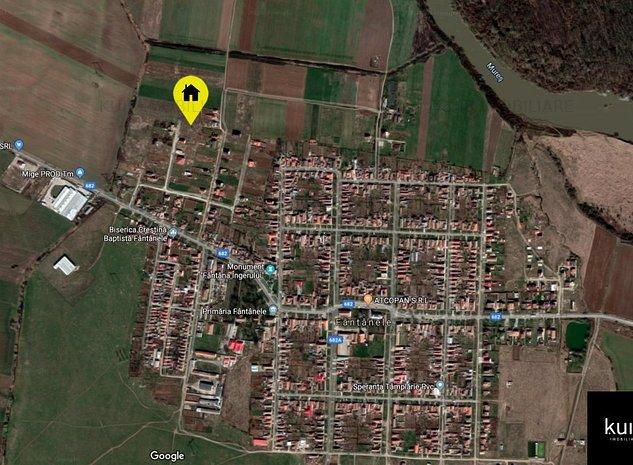 Teren intravilan 1169mp in loc. Fantanele la 5km de Arad - imaginea 1