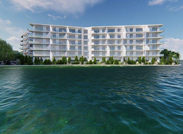 Proiect nou: Garsoniere tip studio cu 2 terase către Lacul Siutghiol - imaginea 1