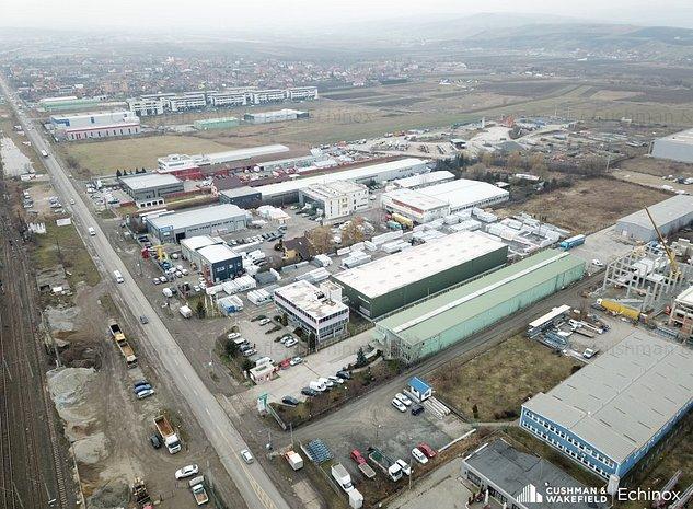 Proprietate industrială de vânzare în Apahida, Cluj  - imaginea 1
