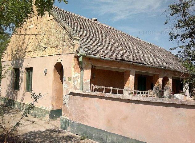 Vand casa in satul Gad comuna Ghilad sau schimb - imaginea 1
