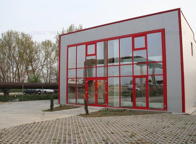 Hala productie, depozitare, birouri, aproape de Mercedes - imaginea 1