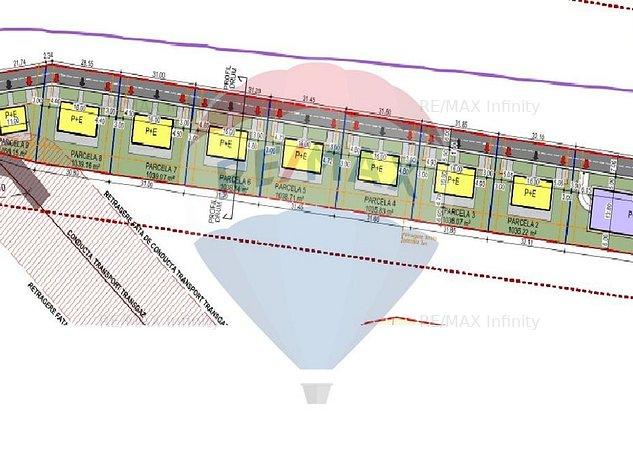 De vanzare 5 parcele de duplex si 1 parcela casa individuala. Comision 0% - imaginea 1