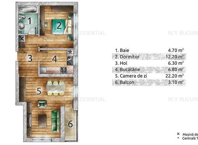 Apartament 2 camere ANL Brancusi/Drumul Taberei - imaginea 1