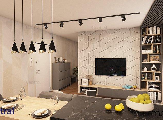 Apartament 2 spatios, bucatarie inchisa - imaginea 1