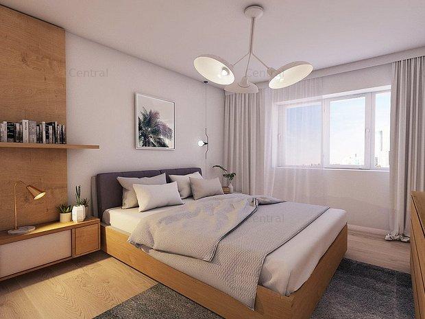 Apartament central 2 camere, bucatarie inchisa - imaginea 2