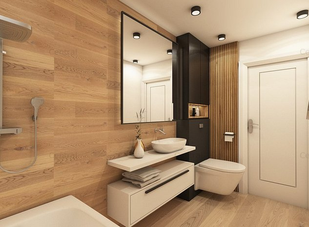 Apartament central 3 camere, bucatarie inchisa, 500 m Parcul Circului - imaginea 1