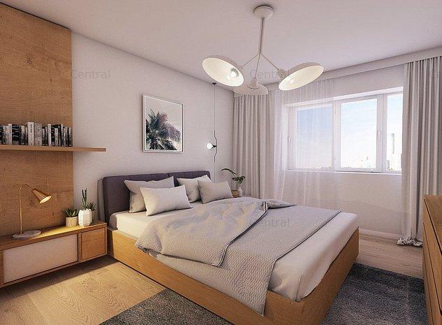 Apartament central 2 camere, bucatarie inchisa - imaginea 1
