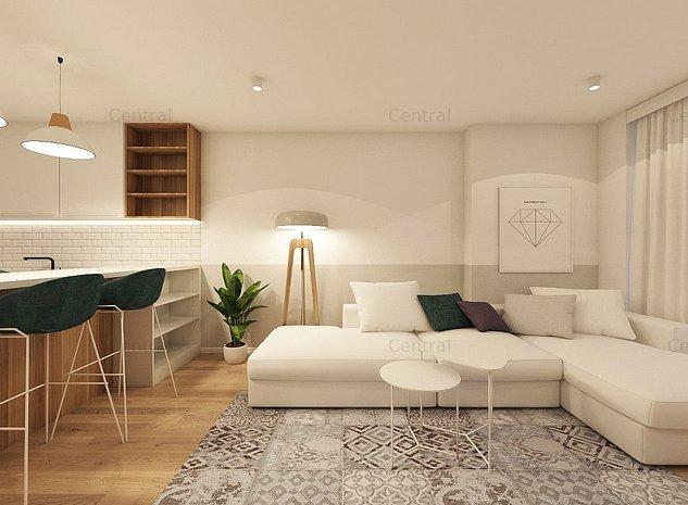 Apartament spatios 2 camere, bucatarie inchisa - imaginea 1