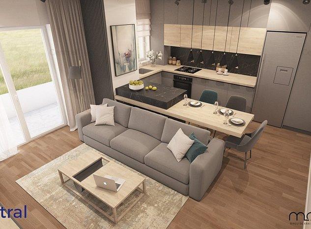 Apartament 3 camere, terasa 18mp - imaginea 1