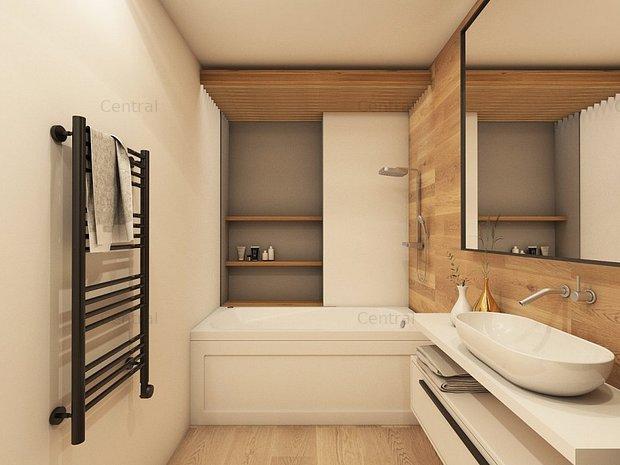 Apartament central 3 camere, terasa 24 mp - imaginea 2