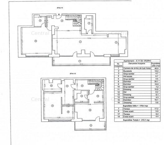 Duplex cu vedere impresionanta - Central - imaginea 1
