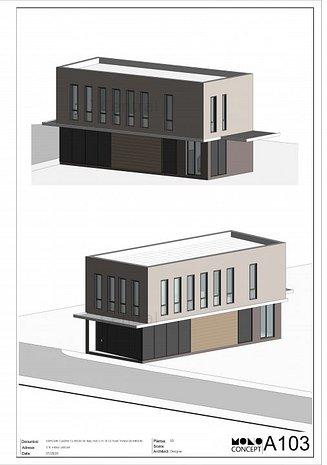 Spatiu comercial/birouri + Depozitatre la Stefan Cel Mare, complex rezidential - imaginea 1