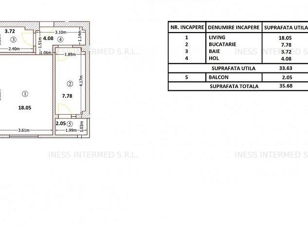Ultima Garsoniera ! Militari-Apeductului Residence,etaj 2/6 - imaginea 1