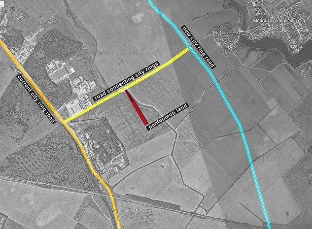 Proiect Industrial / Logistic 7200 mp de Vanzare Pantelimon - IF - imaginea 1