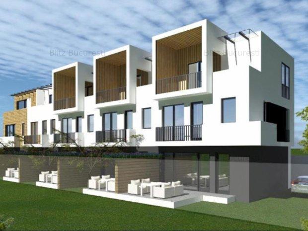 Vila Design Futurist Chitila 110 mp, loc parcare - imaginea 1