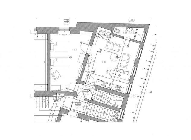 Doua apartamente de inchiriat Ultracentral - imaginea 1