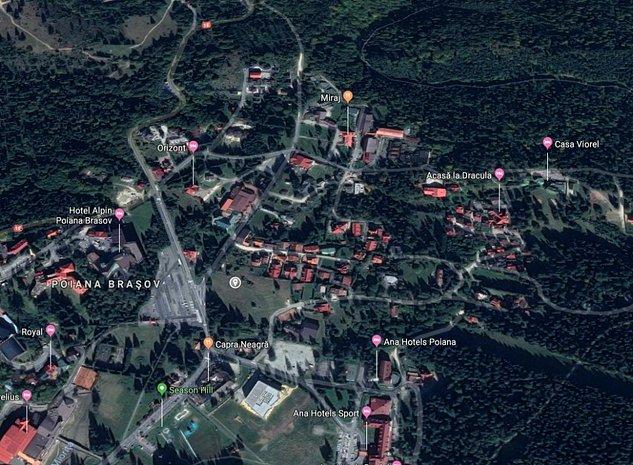 Vând teren zonă turism, pensiuni, case de vacanță, Poiana Brașov - imaginea 1