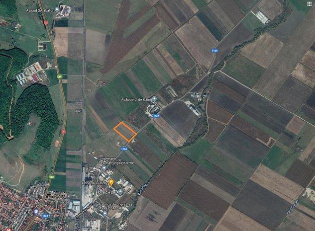 Vând teren industrial în Codlea zona FNC - imaginea 1