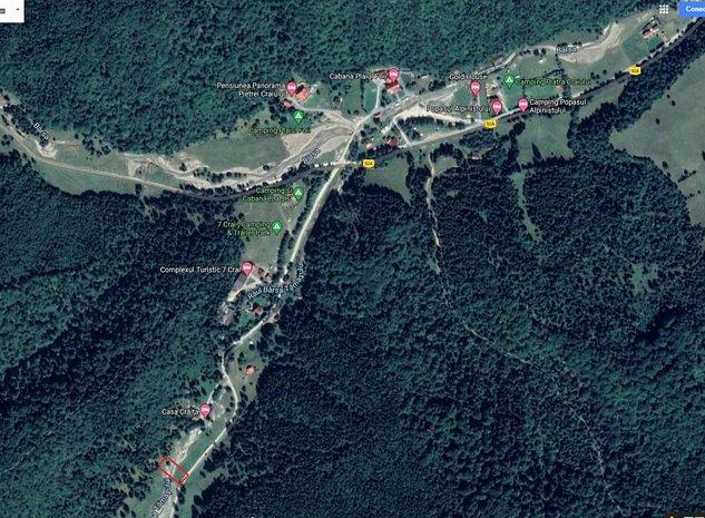 Vând teren intravilan în Zărnești aproape de cabana Plaiul Foii - imaginea 1
